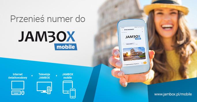Przenieś numer telefonu do Jambox Mobile